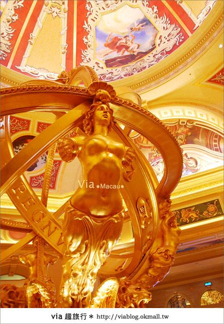 【澳門住宿】澳門威尼斯人酒店~享受奢華的住宿風格!10