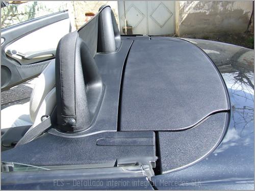 Mercedes SLK detallado interior-18