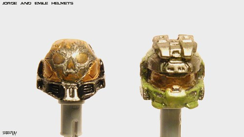 Custom minifig Emile and Jorge V2