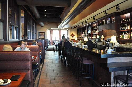 Bar Area at Chianti Grill ~ Roseville, MN