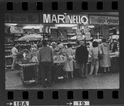Marinello im Shopeville im Zürcher Hauptbahnhof 1985 oder 1986