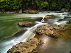 Gett'n Me Some Side Action (Bill Fultz) Tags: waterfall maryland hdr youghioghenyriver swallowfallsstatepark marylandstateparks lowerswallowfalls