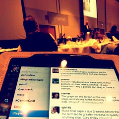 Following the Twitter stream #tltsym11 by cplong11