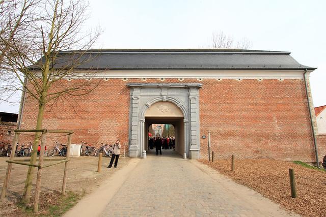 Opening Mariapoort na restauratie