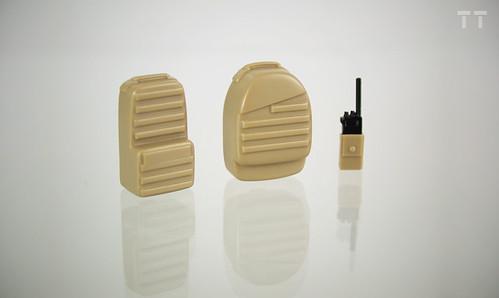 Custom minifig TT Tactical custom minifig Packs and Radio