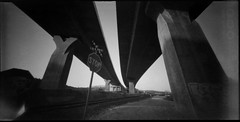 6x12 Gp3 pinhole-1-4 (david_ortega) Tags: bw byn 120 film analgica wideangle pinhole homemade argentique estenopeica qumica gp3 6x12 selfdevelop shanghaigp3100
