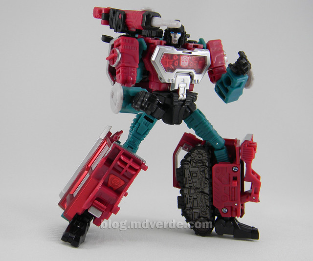 Transformers Perceptor United Deluxe - modo robot