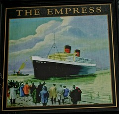 The Empress - Toxteth, Liverpool. (garstonian) Tags: liverpool beatles pubs pubsigns merseyside toxteth