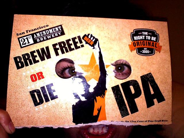 Brew Free! or Die