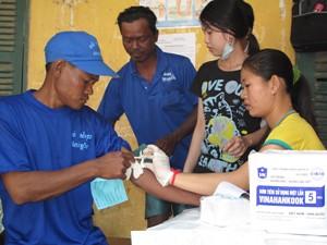 Cambodia/ Test & Treat World AIDS Day 2010