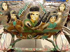 Bollywood Version of Rambo? Rickshaw Art in Rajshahi, Bangladesh (uncorneredmarket) Tags: transport bollywood rickshaw bangladesh rickshawart rajshahi