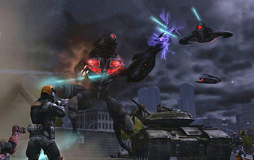 Earth Defense Force: Insect Armageddon: RAVAGERS