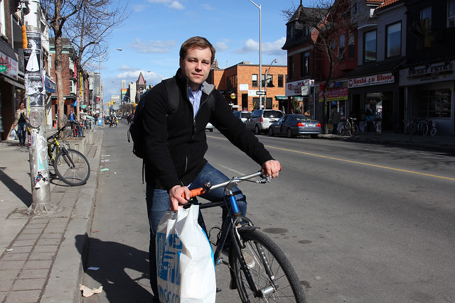 Mike Falikowski wide - Bloor at Brunswick - YBambrick_Apr1_11