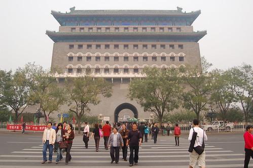 Zhengyangmen ganz Nahe