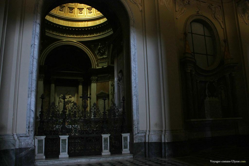 Une des chapelles de la Basilique