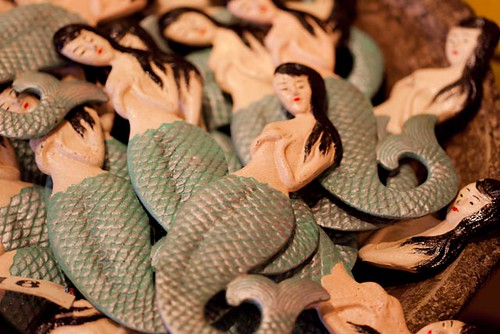 Cast Iron Mermaid bottle openers