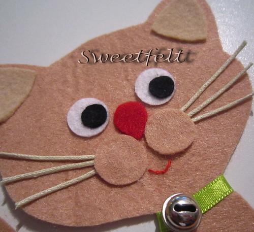 Miauuuuuu ... by sweetfelt \ ideias em feltro