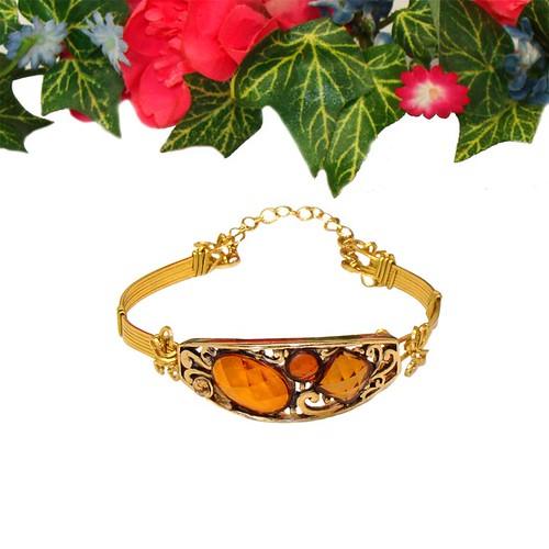 Topaz Slide Bracelet