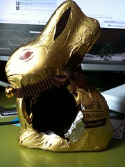 Choco Bunny Without a Heart
