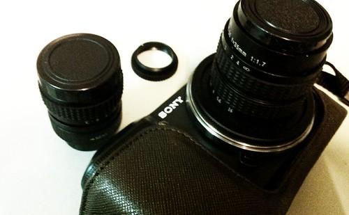 CCTV Lens and Sony NEX3