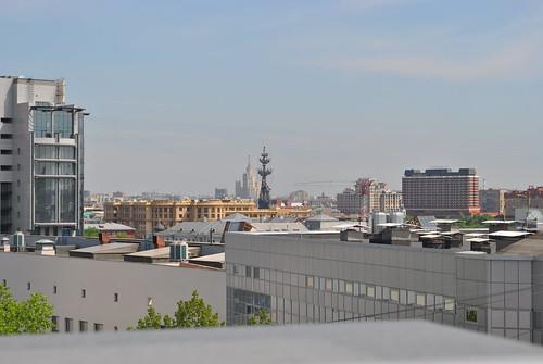 Вид с балкона Яндекса