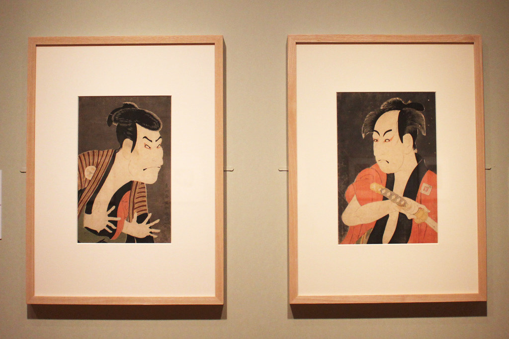 The special exhibition Sharaku that started on may 1st (7)