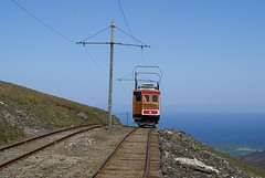Railway to the Clouds (crashcalloway) Tags: mountain holiday railway isleofman snaefell minoltaamount aprilmay2011