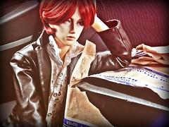 unpacking in the car (feniksdzierzynski) Tags: soom bjd seth chrom