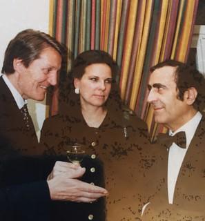Michel Sogny et le comte et la comtesse Enzenberg