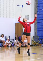 IMG_3031 (SJH Foto) Tags: girls volleyball high school mount olive mt team tween teen teenager varsity serve burst mode