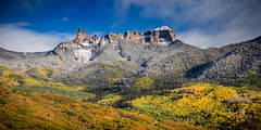 Courthouse Mountain (Travis Klingler (SivArt)) Tags: danballard mountain fallcolors