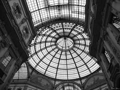 Milan, Italy (boti_marton) Tags: milan milano olaszorszg italy italia city cityscape galleria vittorioemanuele blackwhite bw travel europa panasonic dmc lz20 lumix lombardy lombardia