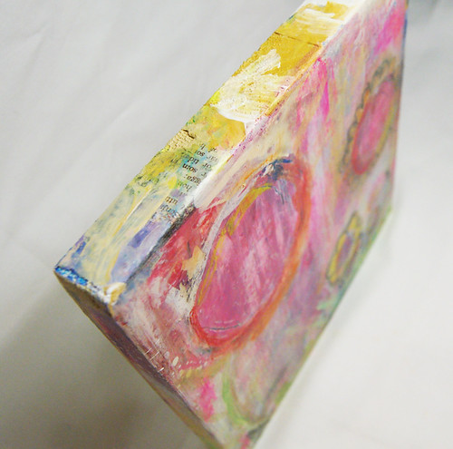 Top view/></a><br /> I love paint on the edges, and viewing it from the top and sides.</p> <p><a href=