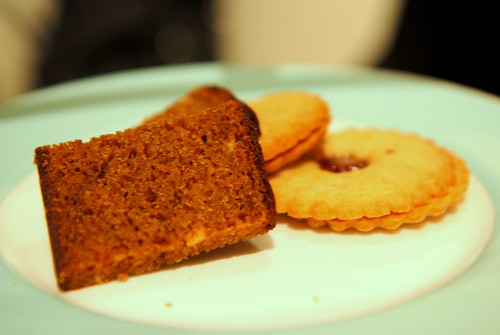 Ginger Cake and Jam Biscuits