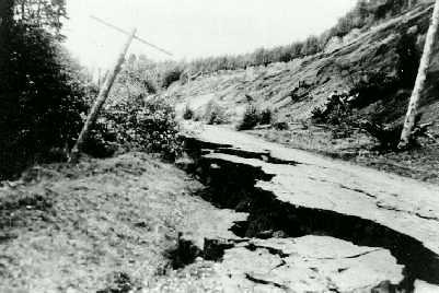 kelsey bay earthquake 1946