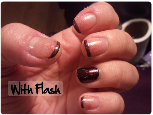 Nail Design with Flash