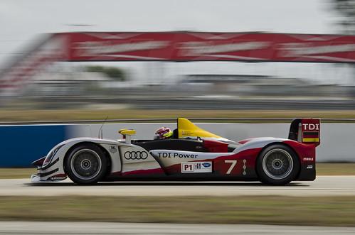 Audi In Florida. Testing - Audi Sport Team