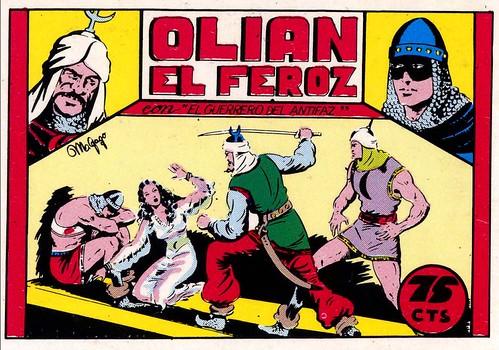 010-El Guerrero del antifaz nº 8 primera edicion-portada