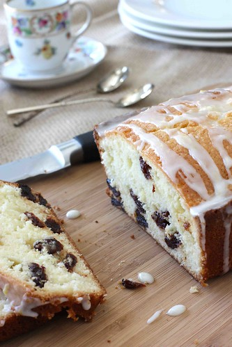 Lemon & Dried Cherry Quick Bread Recipe Final