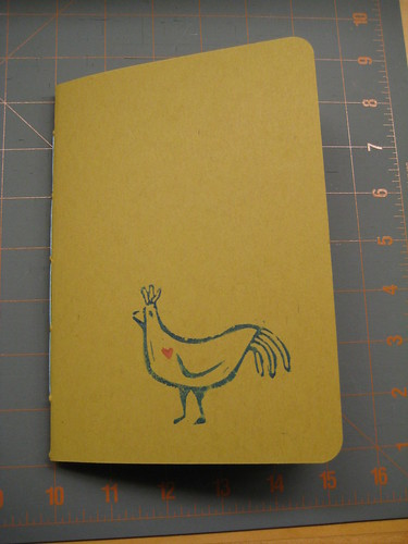 Love Chicken sketchbook