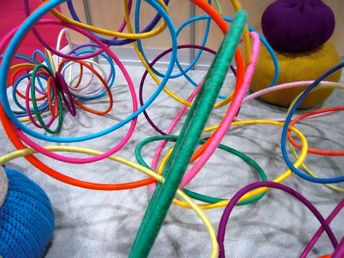 yarn hula hoops