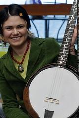 rachel w/unassembled nechville phantom banjo - MG 9838.JPG