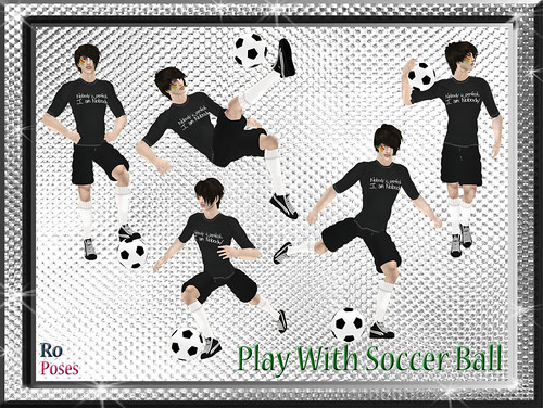 Ro.Poses: PlayWithSoccerBall