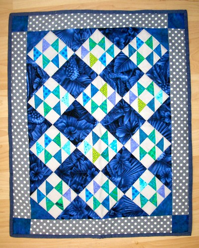 Double X Mini Quilt - September