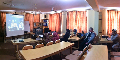Teleconference of Afghan Female Doctors