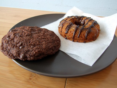 A cookie and a donut from Sweet Freedom Philadelphia