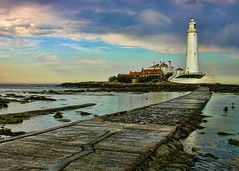St Mary's Island (velton) Tags: england lighthouse bay tyne wear explore northumberland northumbria tyneside whitley caseway velton
