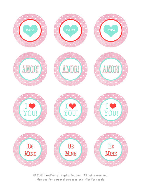 valentines day freebie printable tags