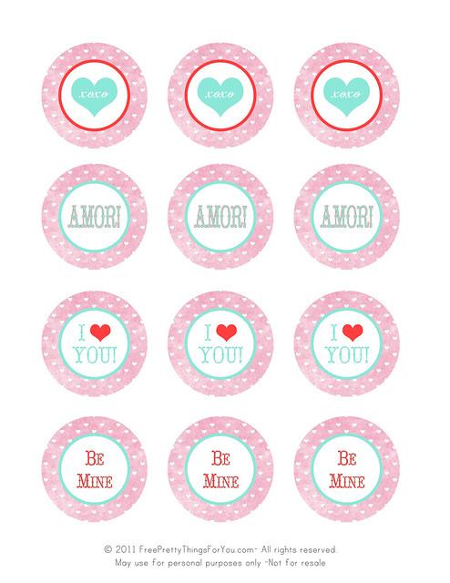 valentines day freebie printable tags