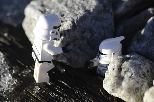 The mini-stormtrooper is a Hero
